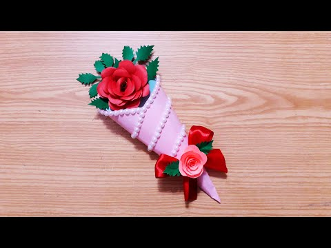 Handmade Mother's Day card /  Mother's Day card making / Easy Mother's day card