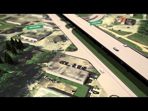 State Highway 146 Expansion Animation