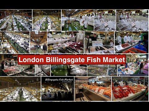 London's Biggest Fish Market In Billingsgate Fish Market