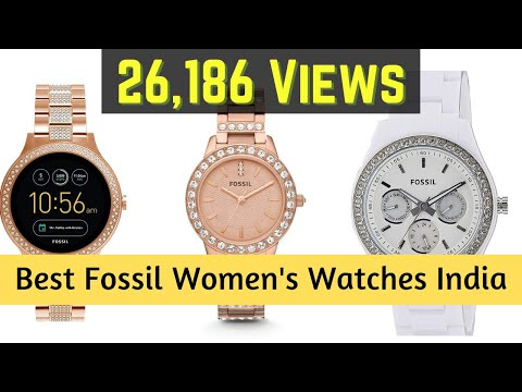 10 Best Selling Fossil Women's Watches In India 2020 Prices List