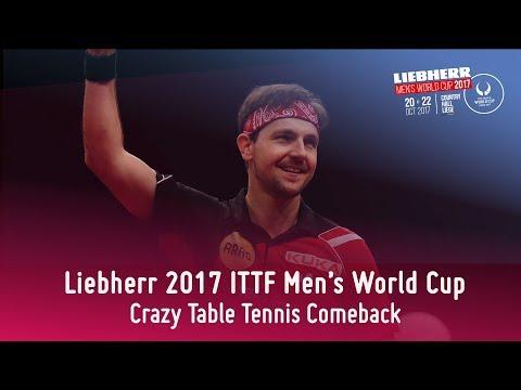 Epic Table Tennis Comeback