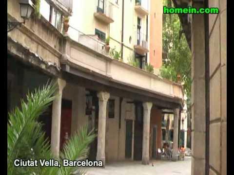 Real Estate search homein.com - Ciutat Vella area in Barcelona, Spain