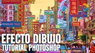 Efecto Dibujo con Filtros en Photoshop