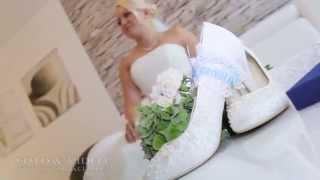 Hochzeitsvorbereitung   сборы жениха и невесты