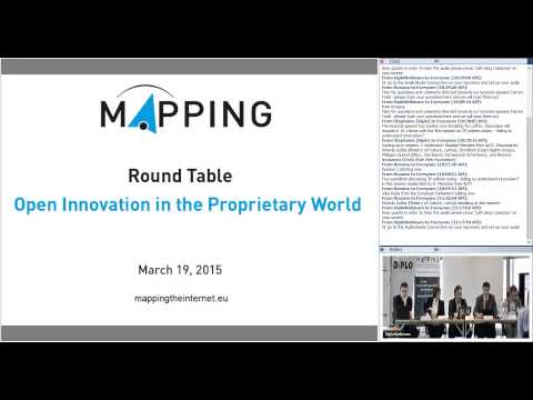 MAPPING round table - Session1:  IP policies today – failing to understand innovation