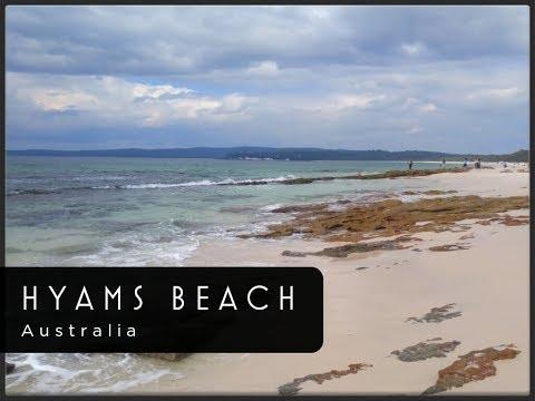 WHITEST SAND BEACH IN THE WORLD - Hyams Beach (Jervis Bay, NSW, Australia)