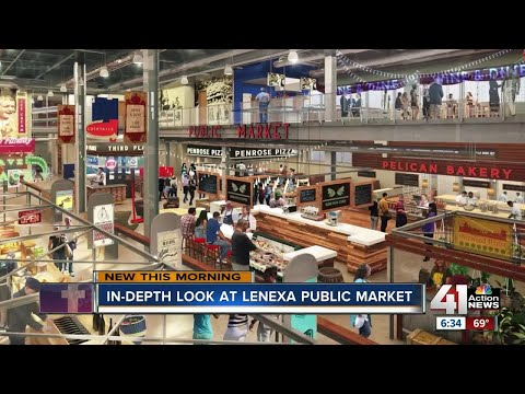 Lenexa Public Market opens in one month
