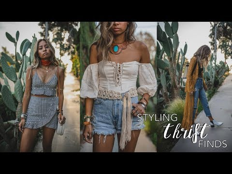 Come Thrift With Me: Styling Thrift Store Finds for Festival Season