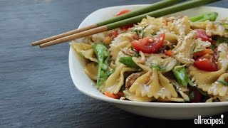 Chicken Recipes - How To Make Sesame Pasta Chicken Salad