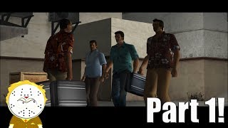 GTA Vice City PS4 Part 1 Intro And The Party 200,000 Subscriber Special