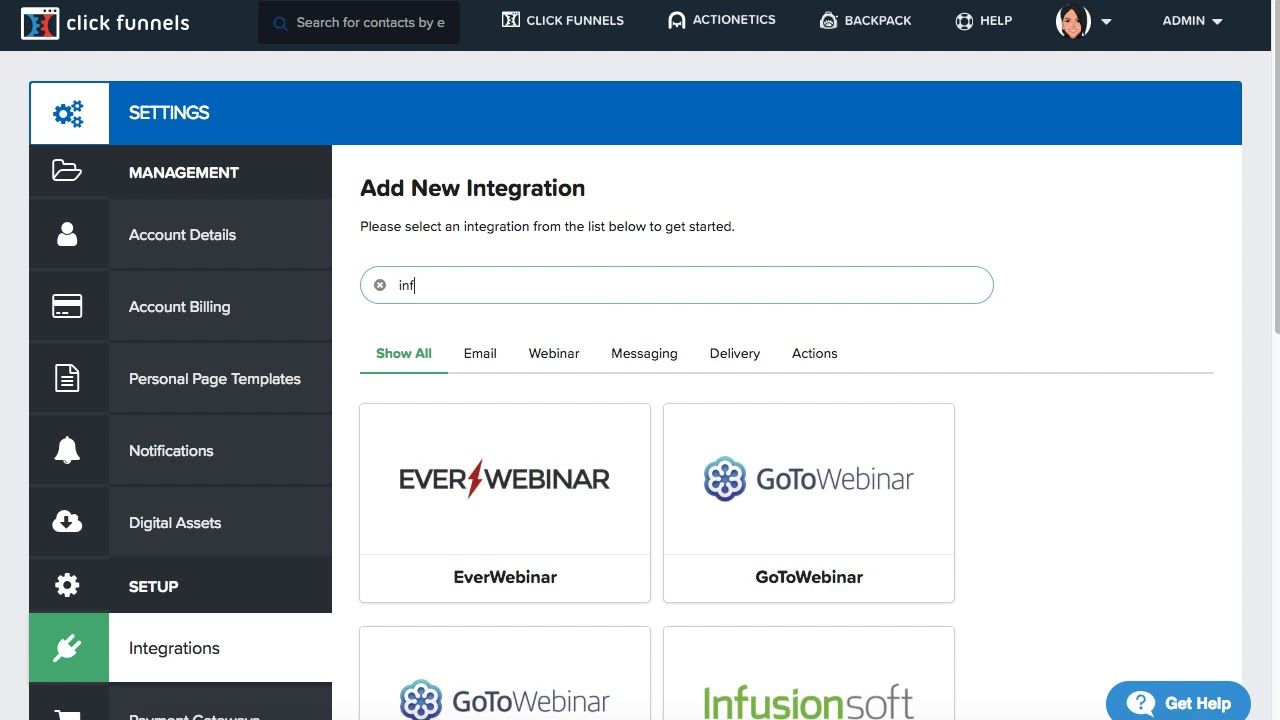 Integrating With Keap (Infusionsoft) Email – ClickFunnels