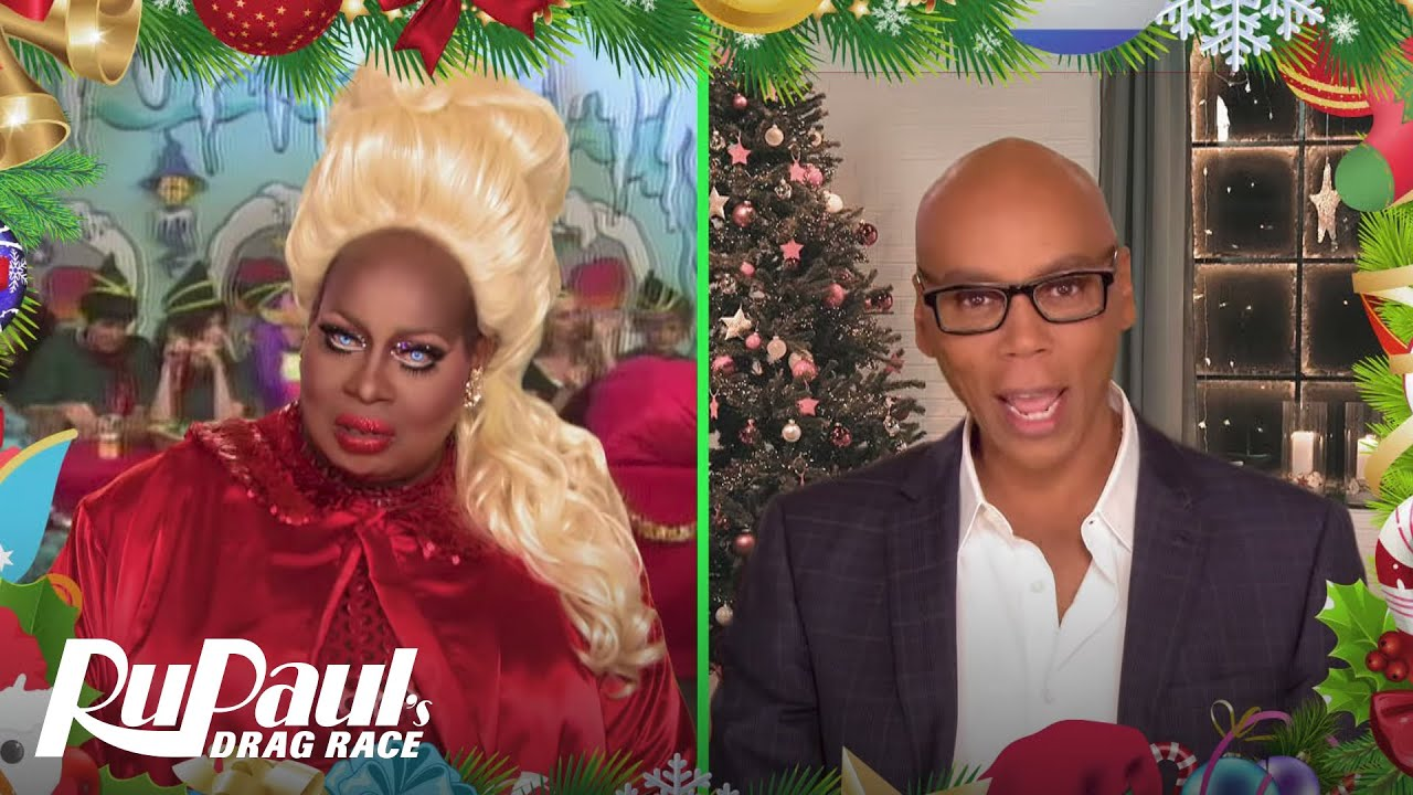 Rupauls Christmas Special.Rupaul S Drag Race Green Screen Christmas You Re The Star W Latrice Royale Logo