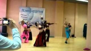 Olesya Astman - Arabe Flamenco (16.10.2011 Belly Dance Day I).