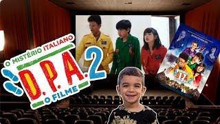 DPA 2 filme | DPA o filme 2 | Filme detetives do prédio azul 2 | DPA 2 | fomos assistir no cinema
