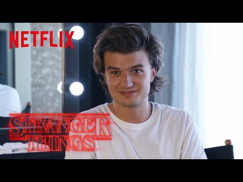 Stranger Things Rewatch  Behind the s: Jonathan Fighting Steve  Netflix