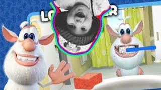 ГОВОРЯЩИЙ БУБА ИГРА Мультик для детей НОВЫЕ СЕРИИ Ухаживаем за Бубой Talking Booba Game for kids