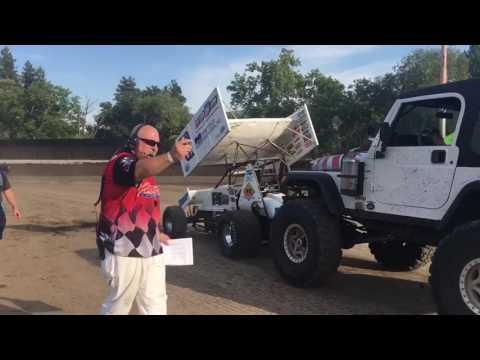 Tony Gualda racing Calistoga, CA