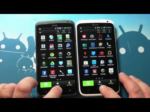 HTC One X/One XL head to head