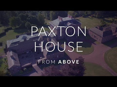 Paxton House From Above