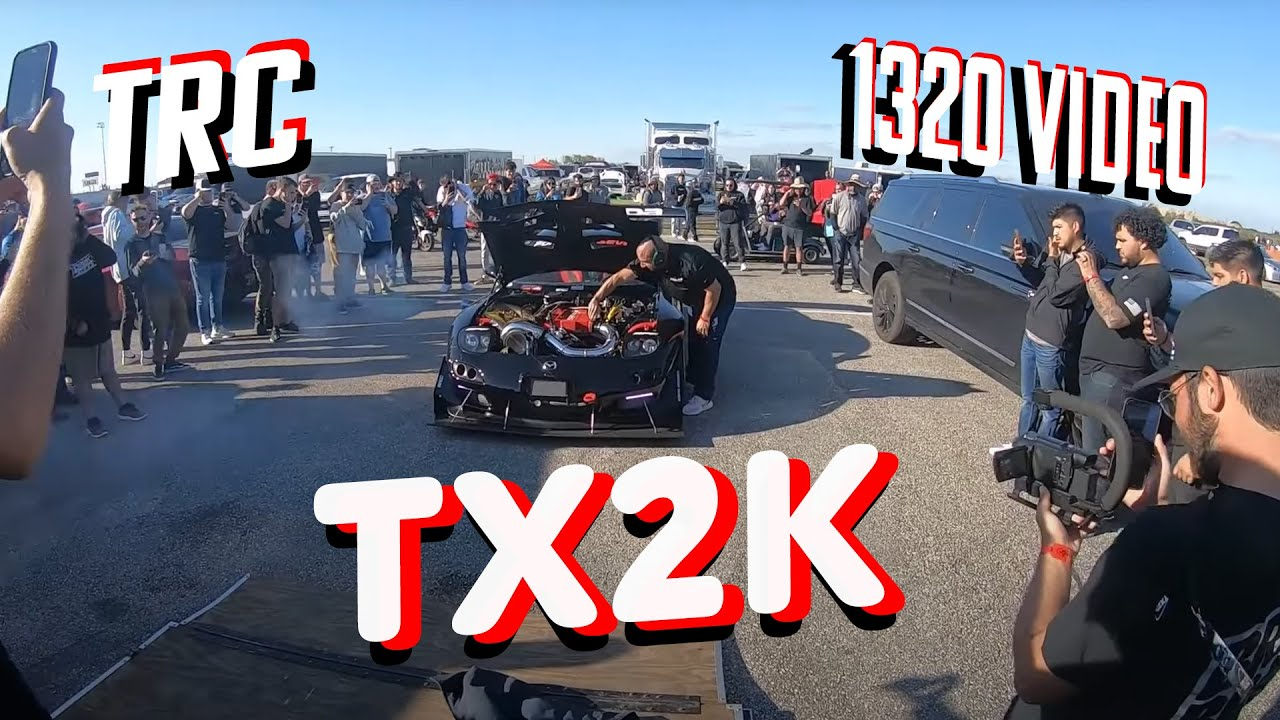TX2K21 - Taking the 4 Rotor + 1320 and TRC ride along reactions!