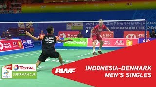 Download Video G1 | MS | Anthony Sinisuka GINTING (INA) vs. Viktor AXELSEN (DEN) | BWF 2019 MP3 3GP MP4