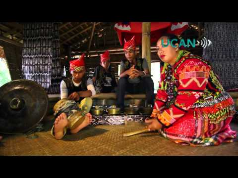 Tribal group uses dance to save culture