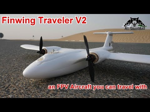 Finwing Traveler V2 Backpack FPV Plane Maiden Flight