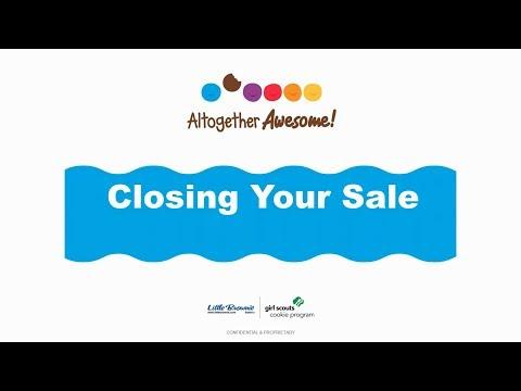 Cookie Café Webinar: Closing Your Sale
