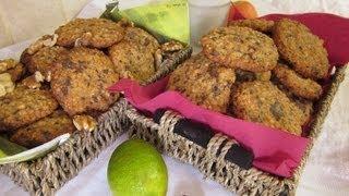 Рецепт -  Овсяное печенье