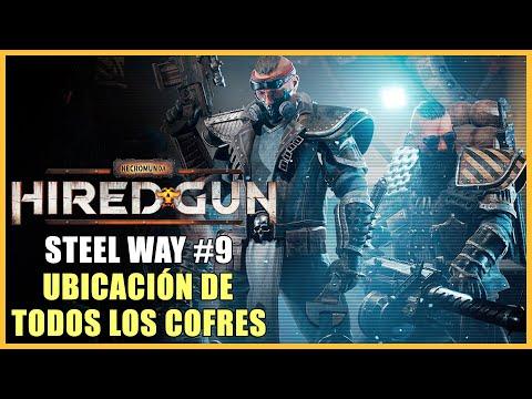 Necromunda: Hired Gun guía - Dónde encontrar los 6 cofres de Steel Way - Capítulo 9