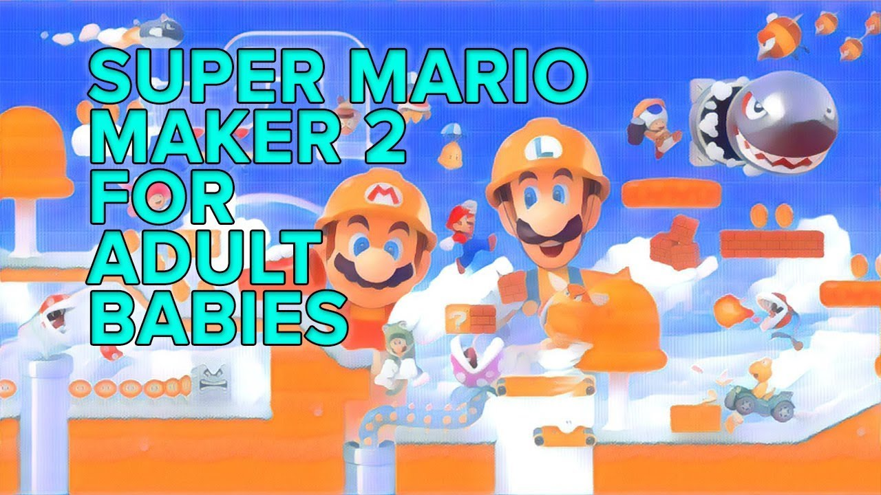 I made a Super Mario Maker 2 course on Switch, here's what I learned
