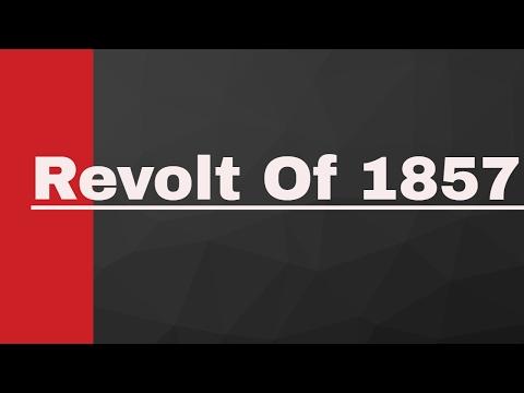 Revolt of 1857 in Hindi