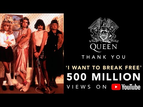 Queen - I Want To Break Free (Official Video) #1