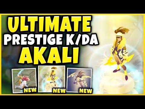 REWORKED PRESTIGE K/DA AKALI IS PURE BEAUTY! PRESTIGE K/DA AKALI SPOTLIGHT! - League of Legends