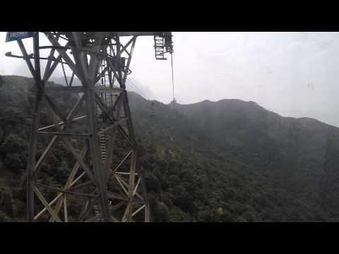 Ngong Ping 360 Cable Car ride from Tung Chung to Ngong Ping