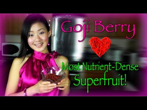Asian Beauty Secret: Goji Berry Health Benefits!