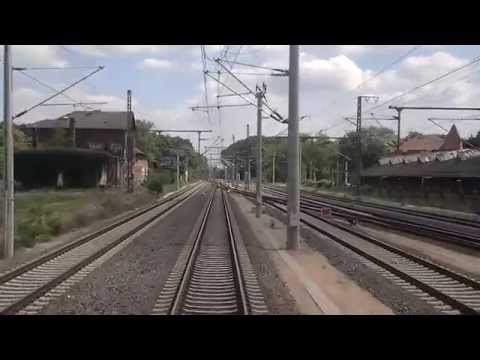Führerstandsmitfahrt von Großcorbetha über Leutsch zum Leipziger Güterring