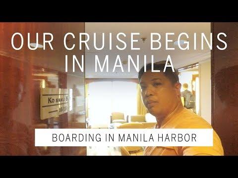 Star Cruises SuperStar Virgo, Departing Manila Harbor