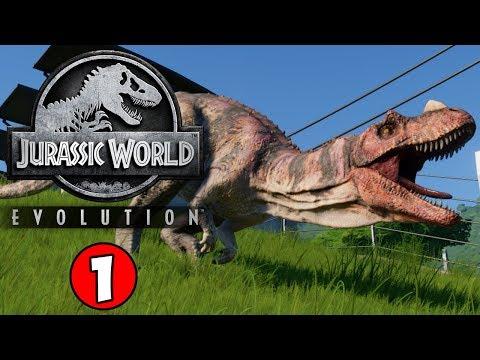 LIFE FINDS A WAY! Jurassic World Evolution Gameplay #1
