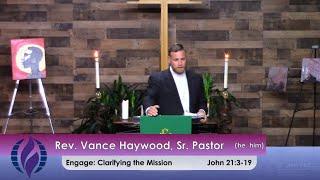 9/12/2021 Sunday Morning Worship at St. John's MCC