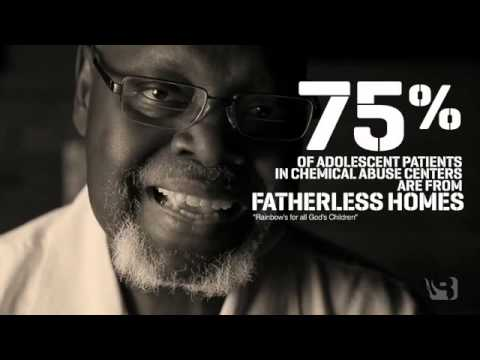 a fatherless society Issue: in the united states, 1 in 3 children live in a fatherless home1 children   research available online shows, society will continue to remain in a crisis until.