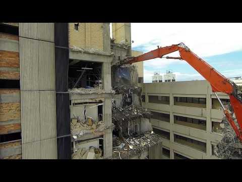Rosenlund Demolition - Gold Coast Hospital Demolition