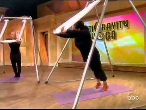 AntiGravity® Aerial Yoga on The View