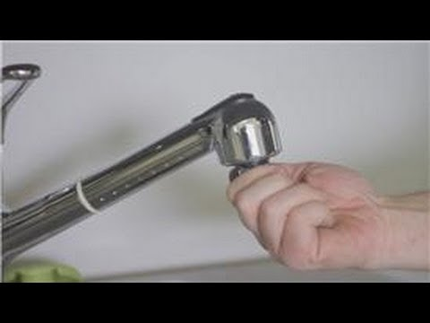 Faucet Repair : How to Repair Water Pressure in Your Kitchen Faucet ...