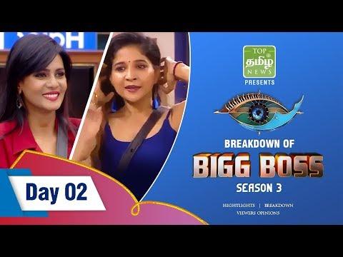 Sakshi,Abhirami செய்த கேவலமான வேலை | Bigg Boss Season 3 Day 2 Breakdown | Episode 4