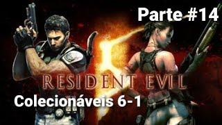 RESIDENT EVIL 5 Pegando os Colecionáveis Parte #14