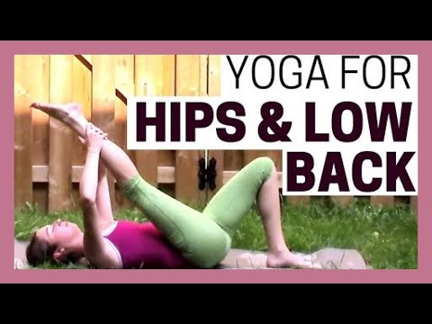 Hatha Yoga for Hips & Lower Back - Treat Sciatica, Improve Flexibility {25 min}