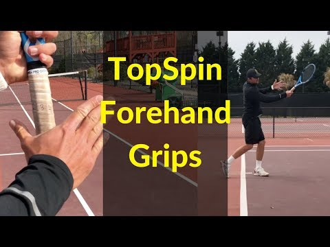 Generate MASSIVE TOPSPIN With All Type Of Grips On Your Forehand!