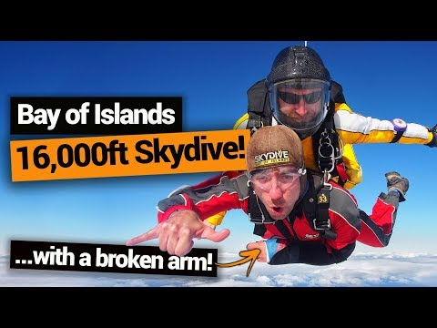 Skydiving in the Bay of Islands – New Zealand's Biggest Gap Year – Backpacker Guide New Zealand