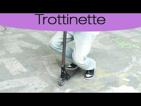 Trottinette : la technique du whip